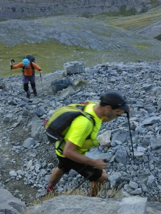 Monte Perdidon aritu dira Matxinkorta mendi taldeko kideak - 11
