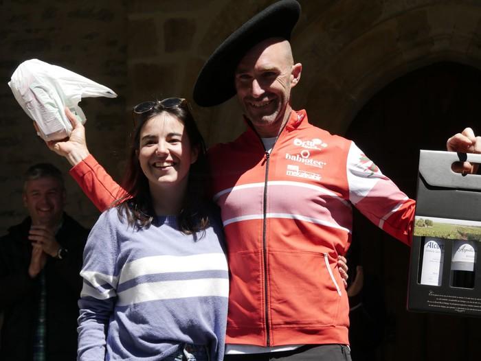 Zuriñe Frutosek eta Iñaki Isasik irabazi dute Aiarako Mendi Duatloia - 91