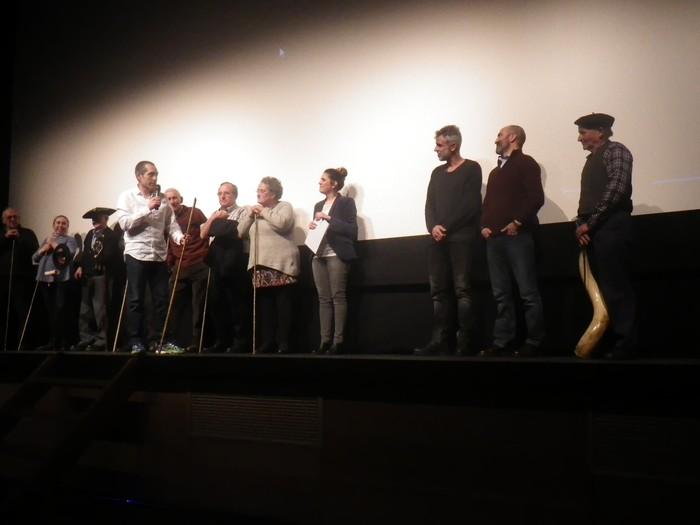 "Amurrio Antzokia txiki geratu da ""Los últimos pastores de la Sierra Sálvada"" dokumentalaren estreinaldian - 19"