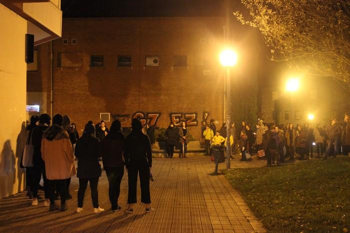 Indarkeria matxistaren aurkako aldarriz bete dituzte eskualdeko kale eta plazak - 33
