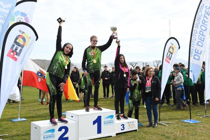 Atletismo Egokituko Espainiako txapelketan bigarren geratu da Olaia Gurrutxaga - 2