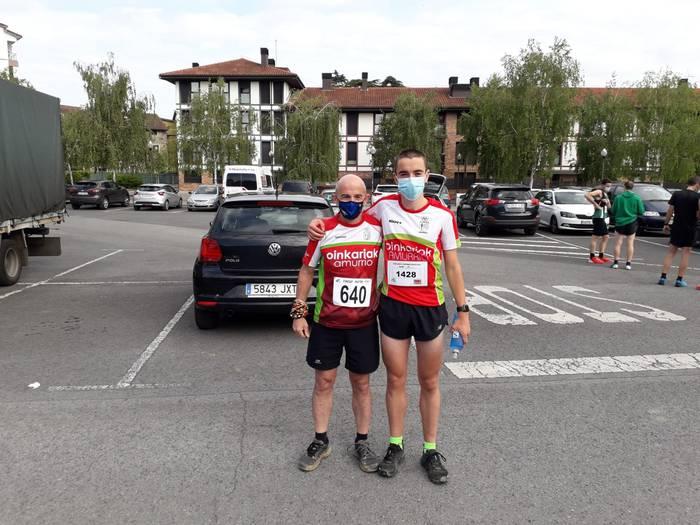 Euskadiko Trail Txapelketako 2. postua eskuratu zuen Ekain Usategik igandean