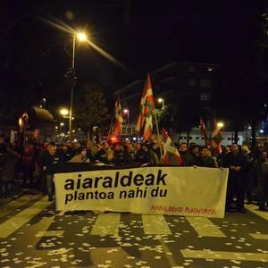 """""""Aiaraldeak planto nahi du"""" manifestazioa"""