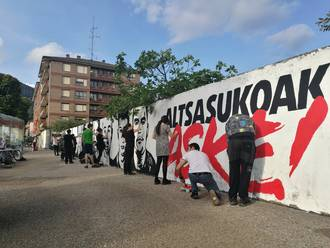 EH Bildu Laudioren prentsa oharra Altsasuko gazteen espetxeratzeari buruz
