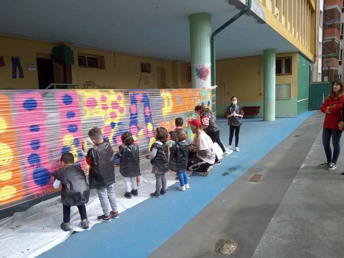 Graffiti tailerra burutu dute Lamuza Ikastetxean - 3