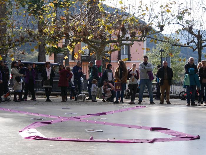 Indarkeria matxistaren aurka mobilizatu dira eskualde osoan - 31