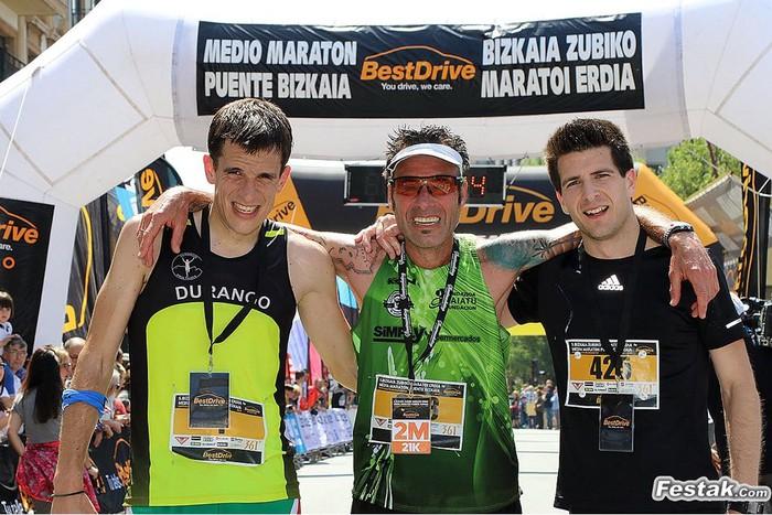 Koldo Ayesta 3. izan zen Bizkaia Zubiko Maratoi Erdian