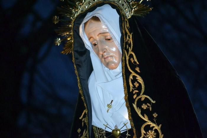 Laudioko kaleak hartu dituzte Aste Santuko prozesio kristauek - 31