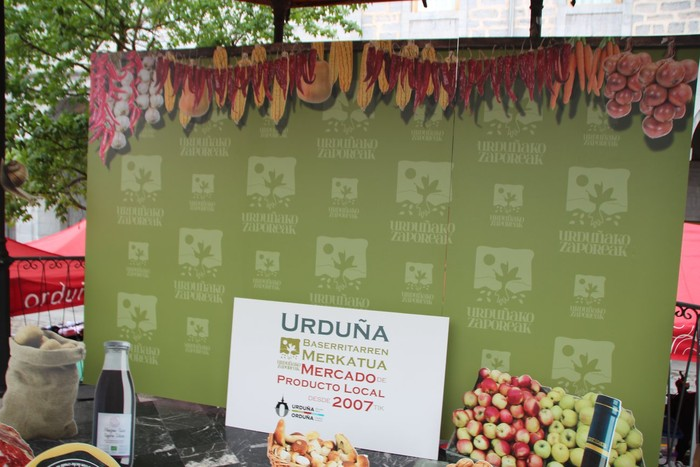 V. Azoka agroekologikoa ospatu dute Urduñan, tokiko ekoizleekin - 16