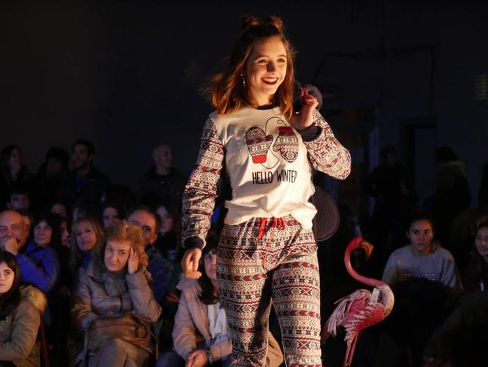 Ikasbidaia antolatzeko moda desfilea egin zuten ikastolan - 33
