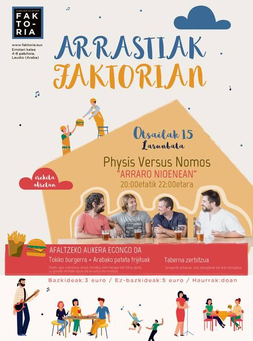 Physis Versus Nomos kontzertuan, Arrastiak Faktorian zikloan
