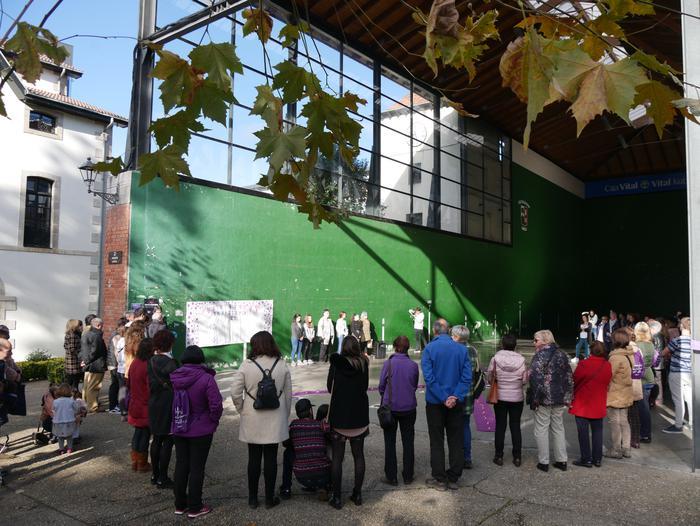 Indarkeria matxistaren aurka mobilizatu dira eskualde osoan - 67