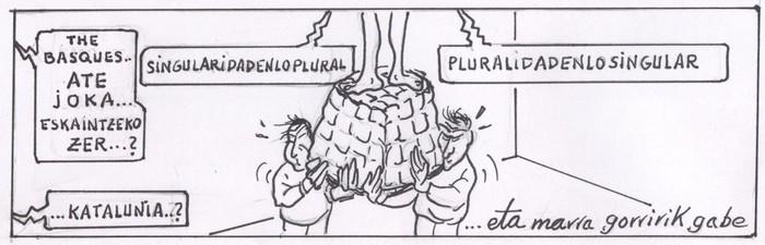 KOMIKIA: Pluraltasun/Singulartasun