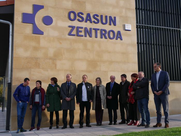 Gaur inauguratu dute Orozkoko anbulatorio berria - 2