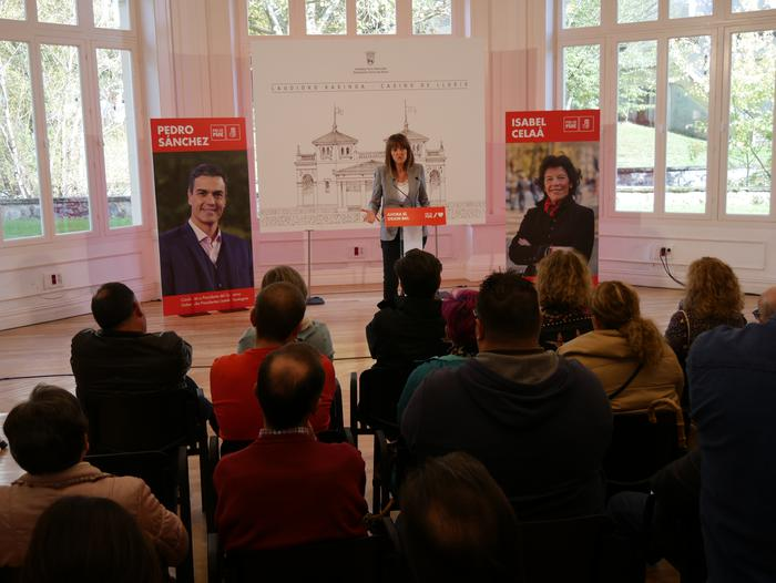 Idoia Mendiak Vox eta eskuinaren aurkako boto sozialista eskatu du - 26