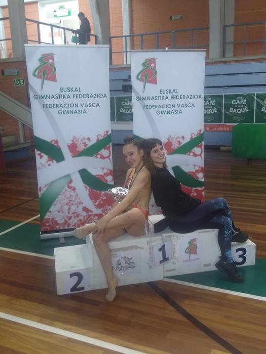 Domina ugarirekin Aresketako gimnastak Euskadiko Txapelketatik - 6