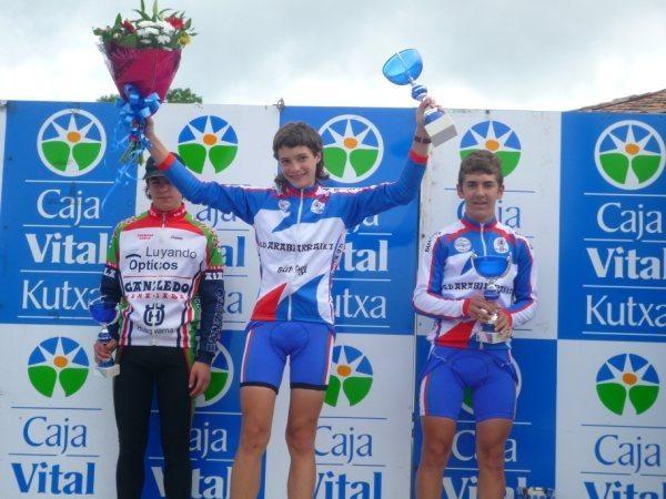 Jon Martinez de Albeniz Aiarako Biraren sailkapenaren gailurrean da, bigarren etapa irabazi ondoren