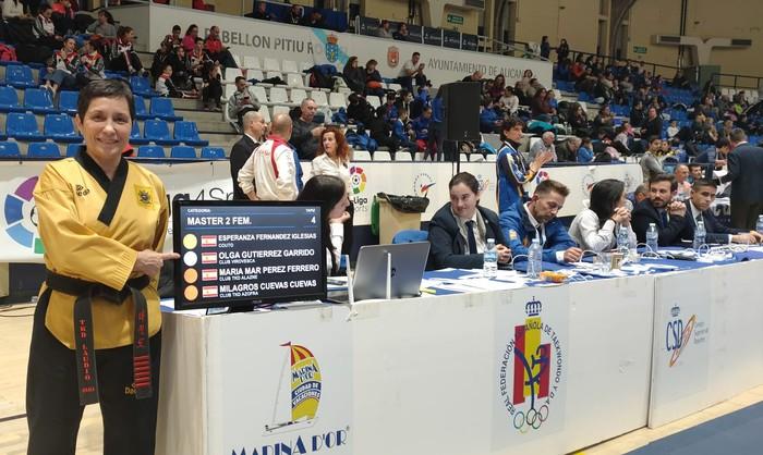 Olga Gutierrez Garrido bigarren Espainiako Taekwondo Txapelketan