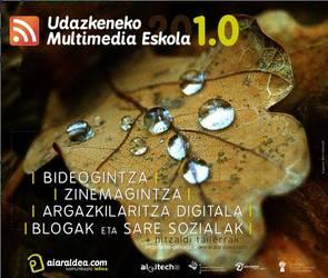 Udazkeneko Multimedia Eskola 201.0, izena emateko epea zabalik