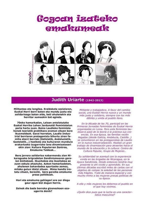 Judith Uriarte 7/8