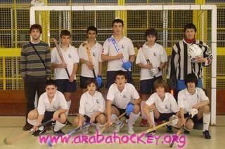 Saraube taldeak itxura ona eman zuen Getxon jokatutako Euskal Herriko kadete mailako Hockey txapelketan.