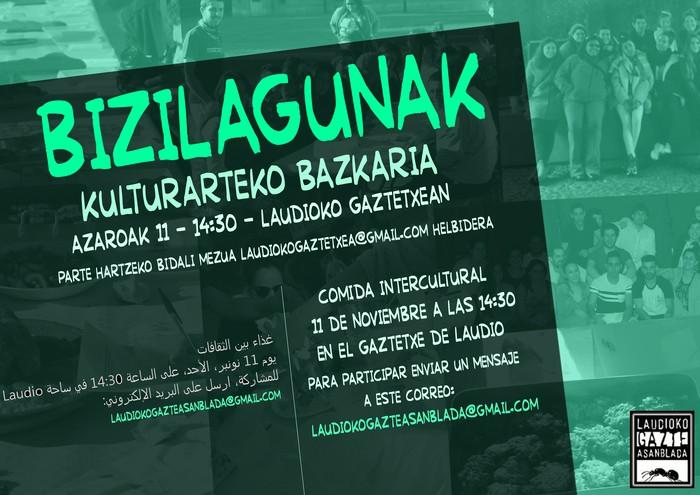 Aurten ere Bizilagunak ekimenean parte hartuko du Laudioko Gaztetxeak