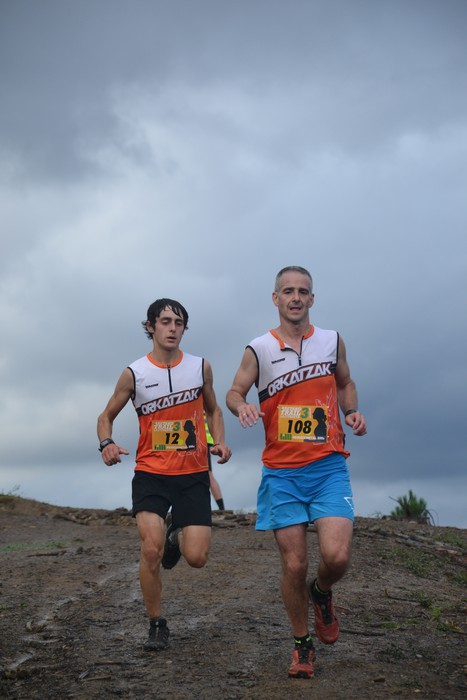 Iñaki Isasi eta Maider Urtaran izan ziren irabazleak Areta Trail probaren III. edizioan - 258