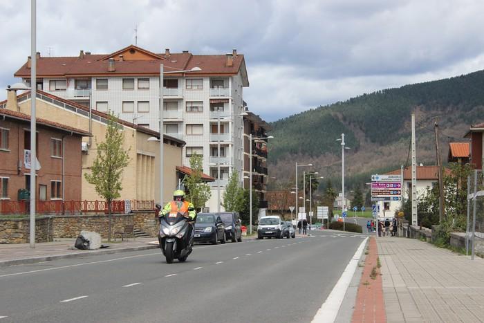 Euskal Herriko itzuliak eskualdeko errepideak hartu ditu - 19
