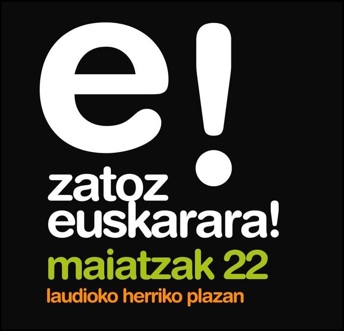 """Maiatzaren 22an """"Laudion Euskarak beste pauso bat harago"""" jaia ospatuko da"""