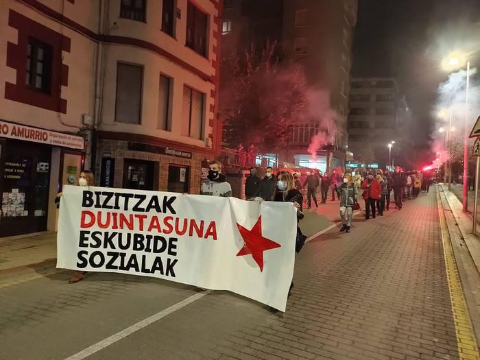 """""""Bizi baldintza duinak"""" aldarrikatzeko mobilizazioa egingo dute Urduñan larunbatean"""