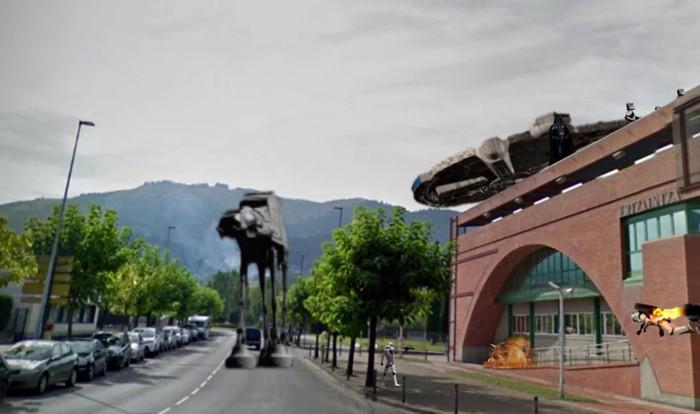 Orbeko Etxean girotutako Star Warsen fan filma ikusgai