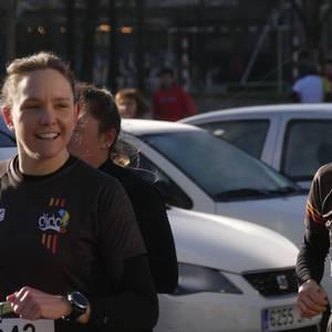 Lasterkari ugarik hartu dute parte Laudioko Herri Krosean