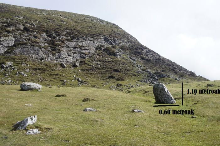 Ganekogortan aztarnategi megalitikoa dagoen ikertu beharra dagoela uste du Arene Kultura Elkarteak - 4