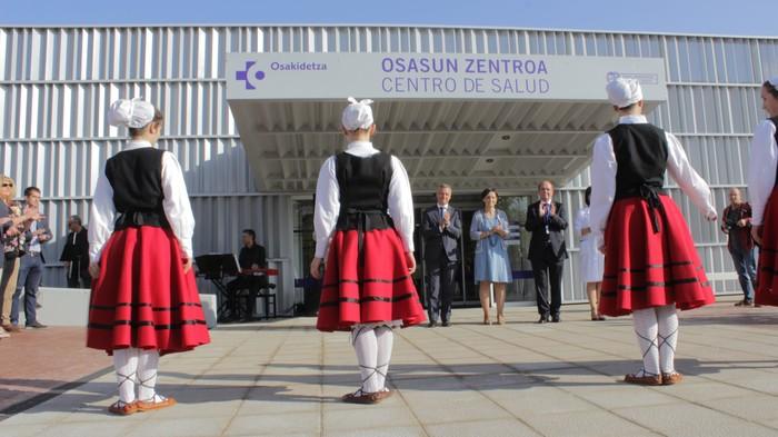 Iñigo Urkullu Lehendakariak inauguratu du anbulatorio berria - 7
