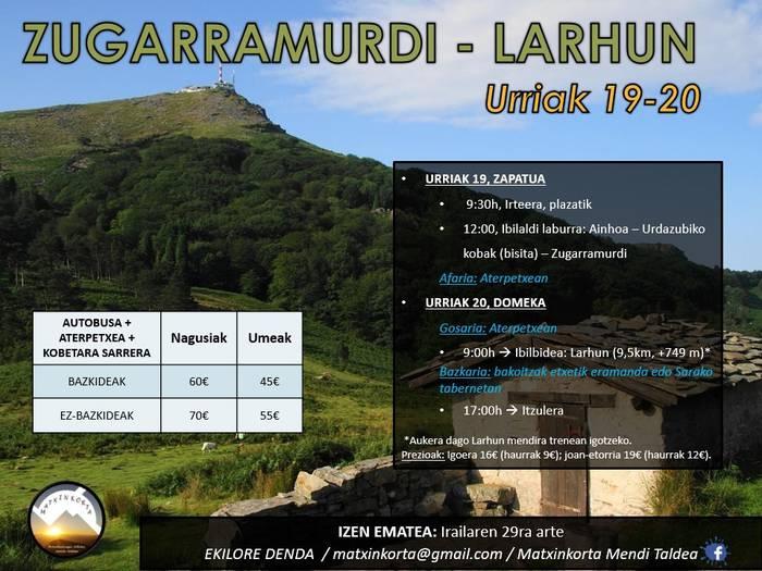 Zugarramurdi-Larhun