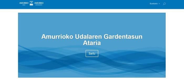 Udal gardentasunerako web-ataria ireki dute