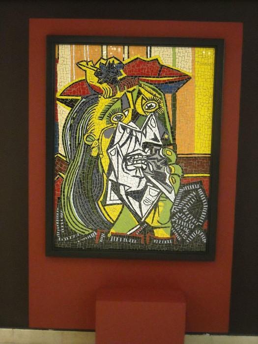 Picassorean obran oinarrituriko mosaikoak ikusgai daude Kultur Etxean - 2