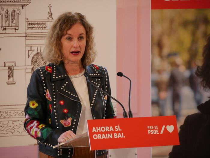 Idoia Mendiak Vox eta eskuinaren aurkako boto sozialista eskatu du - 23