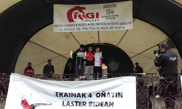 Distantzia motzeko Euskadiko Duatloi Txapelketa irabazi du Koldo Etxebarriak