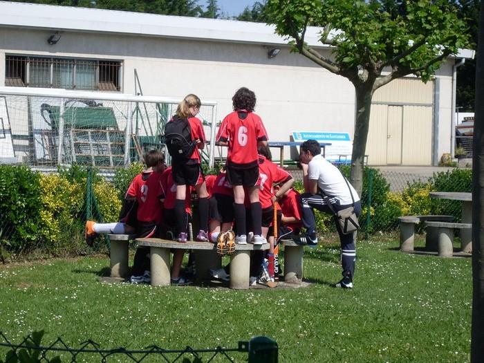 Kume mailako Ganbegi Hockey Taldeak txapelketa ona burutu zuen Santanderren - 1