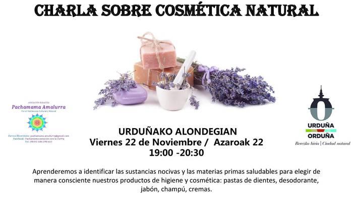 Kosmetika naturalari buruzko hitzaldia