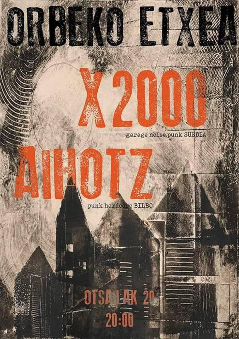 X2000 + Aihotz