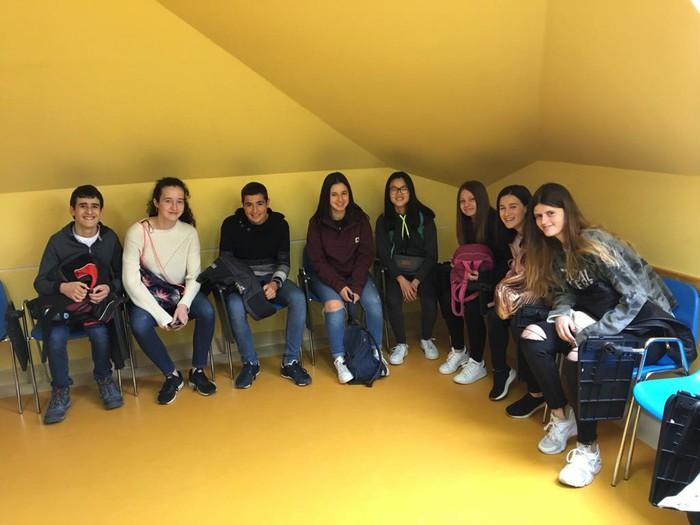 Polonian daude Laudio BHIko zenbait ikasle, Erasmus+ programarekin  - 3