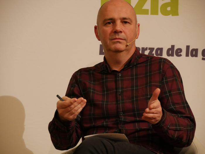 Joseba Vivanco EH Bilduko alkategiaren aurkezpenean Kike Fernandez de Pinedo ere aritu zen - 5