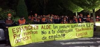 Tubos Reunidos taldeko LAB sindikatuaren oharra Eusko Jaurlaritzarentzat