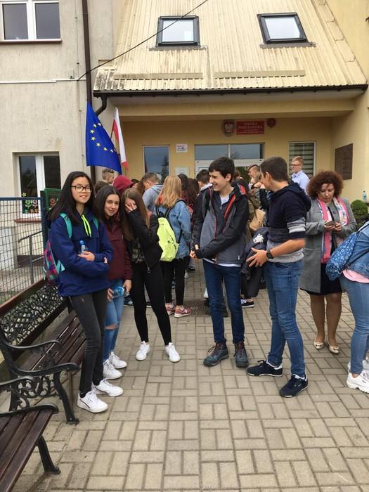 Polonian daude Laudio BHIko zenbait ikasle, Erasmus+ programarekin  - 5