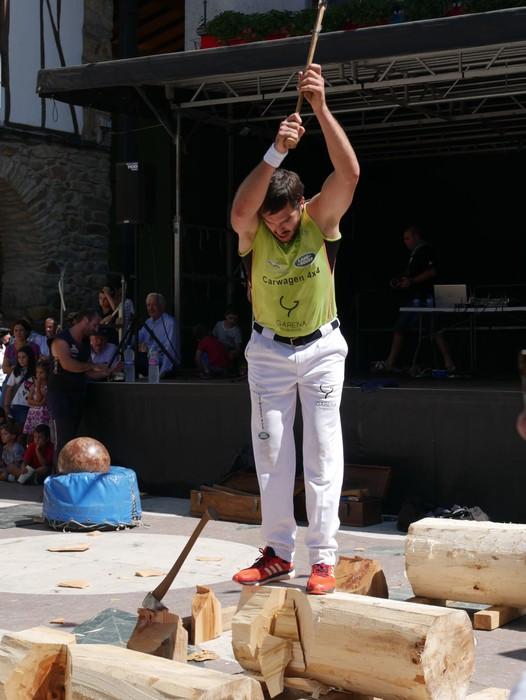 Margolariek eta herri kirolek girotu dute festetako larunbat eguerdia - 30