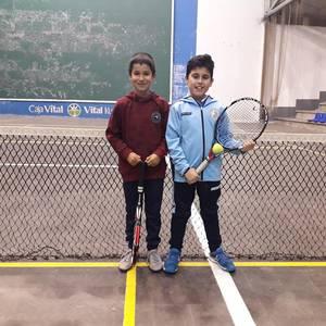 Gabonetako partidak antolatu ditu Laudio Tenis Klubak