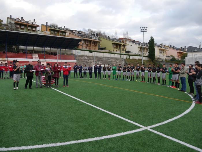 Futbol txapelketa egin dute Jon Urkijo Labururen omenez - 2