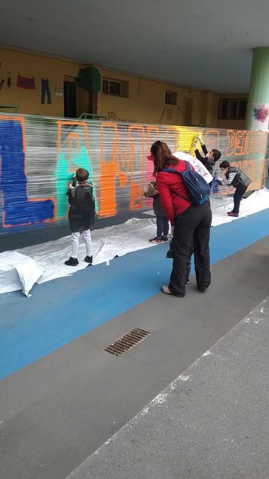 Graffiti tailerra burutu dute Lamuza Ikastetxean - 4
